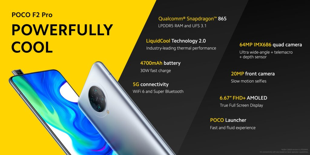 POCO F2 Specifications