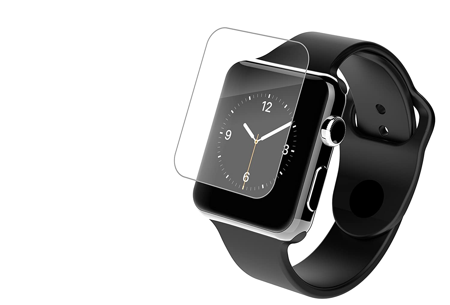 Zagg's Invisible Shield HD Clear - best apple watch screen protector