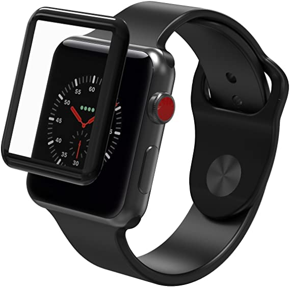 Zagg's Glass Curve Elite - best apple watch screen protector
