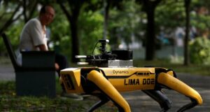 Boston Dynamics' Spot Patrols Singapore Parks