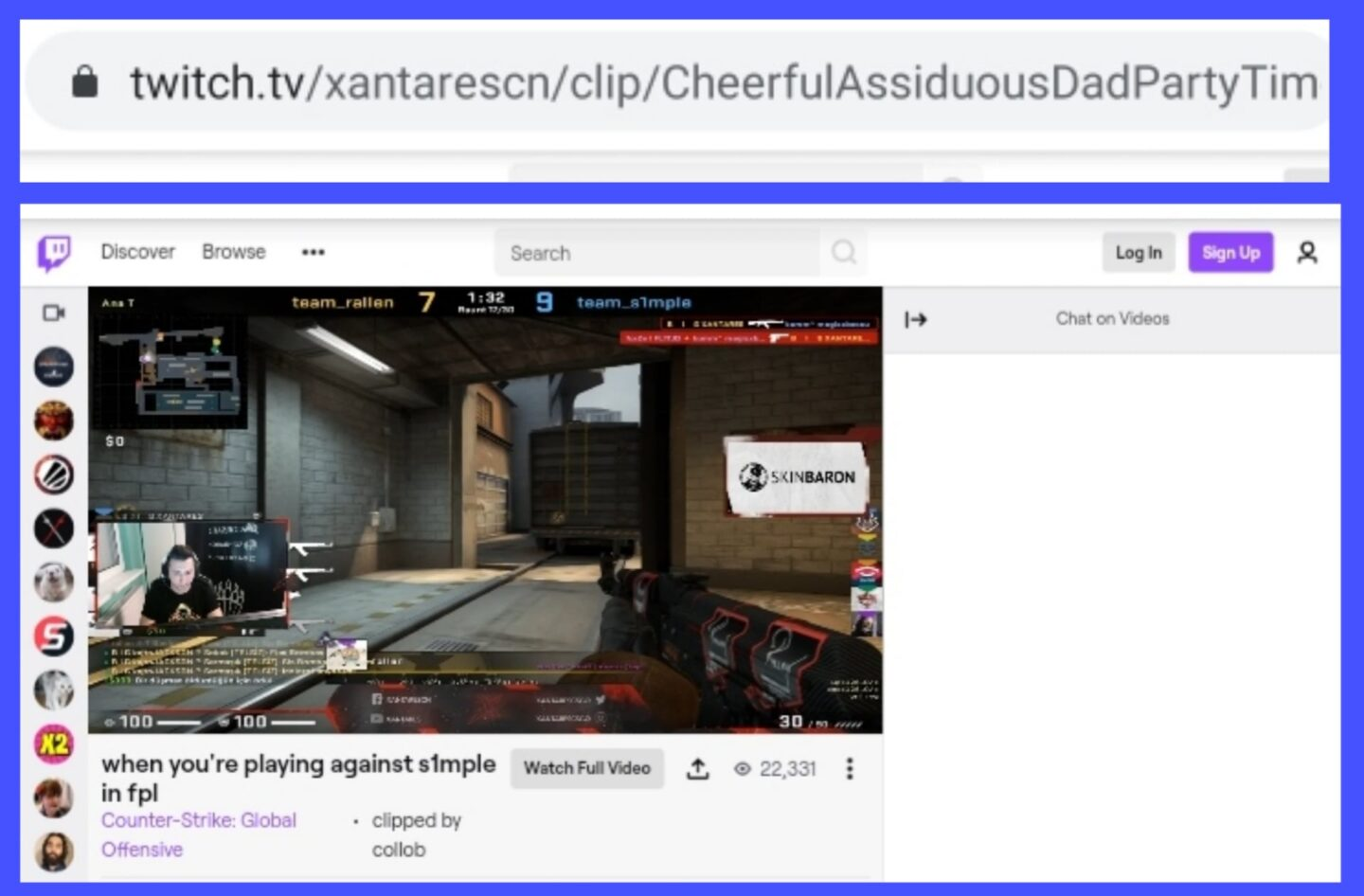 Copy Clip Link - Download Twitch Clips