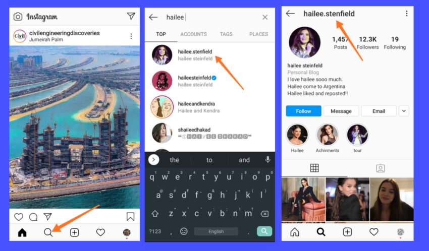 Download Instagram Profile Picture - Open Instagram