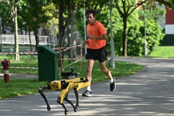 Boston Dynamics' Spot Patrols Singapore Parks