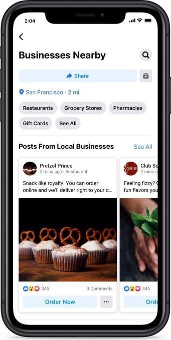 Facebook and Instagram Add New Feature to Support Local Businesses