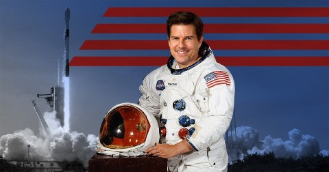 Tom Cruise Wants to Shoot Movie in Space