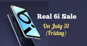 Realme 6i is All Set for Its First Sale on July 31, Check How You Can Get One