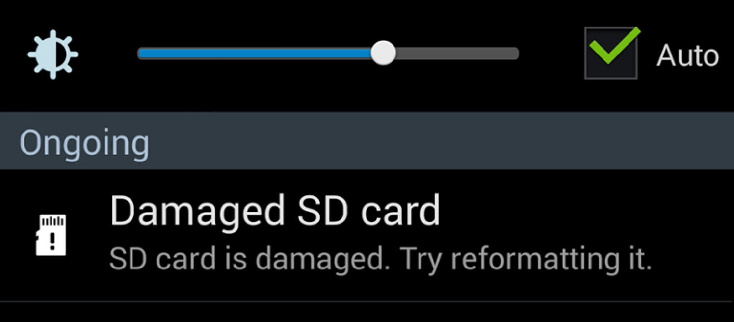 Damaged SD card corrupted how to fix