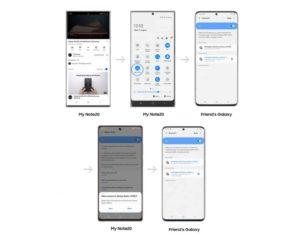 Galaxy Note20 Music Share Update