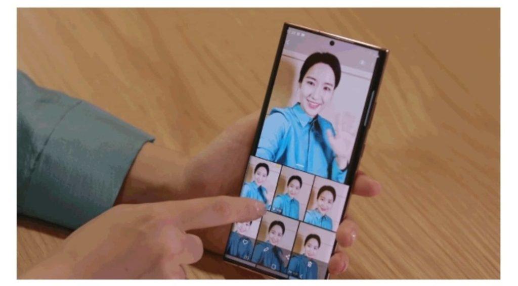 Note20 Series Portrait Background Change