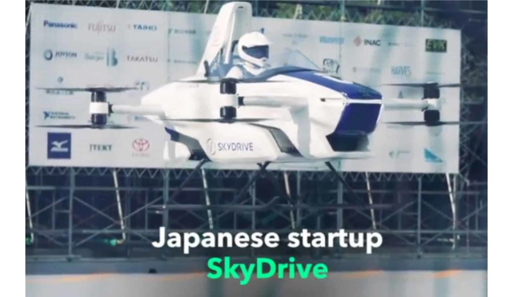 Japan Successfully Tests Flying Car With One Person Aboard