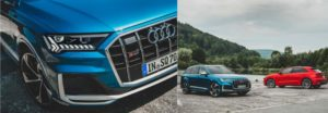 Audi Presents SQ7 and SQ8 With TFSI Gasoline Engine in Sporty Character
