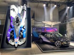 BMW i Motorsport at Greentech Festival in Berlin for Future Technology Display
