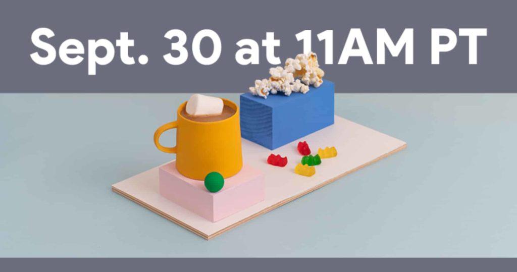Google Pixel 5 Launches on September 30 Alongside Chromecast and Smart Speaker