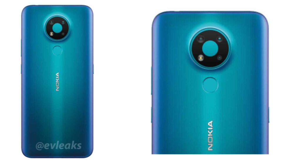 Nokia 3.4 Blue Colour Variant Leaks in a New Render
