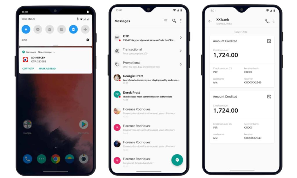 OnePlus Releases Its Messages App On Google Play Store With Updated Features