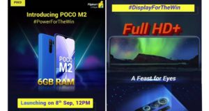 POCO M2 to Launch in India on September 8, Check Detailed Specs & Price