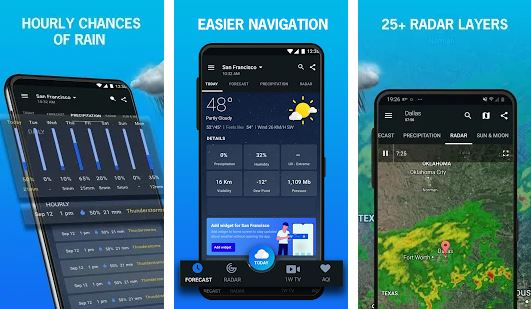 1Weather - Paid Android Apps