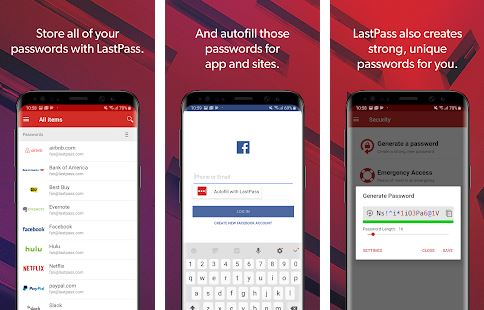 LastPass - Paid Android Apps