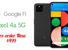 Pixel 4a With 5G Is Now Available for Pre-Order on Google Fi Website
