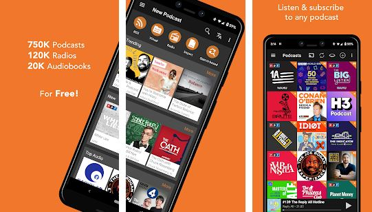 Podcast Addict - Podcast Apps for Android