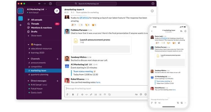 Slack - Screen Sharing Software