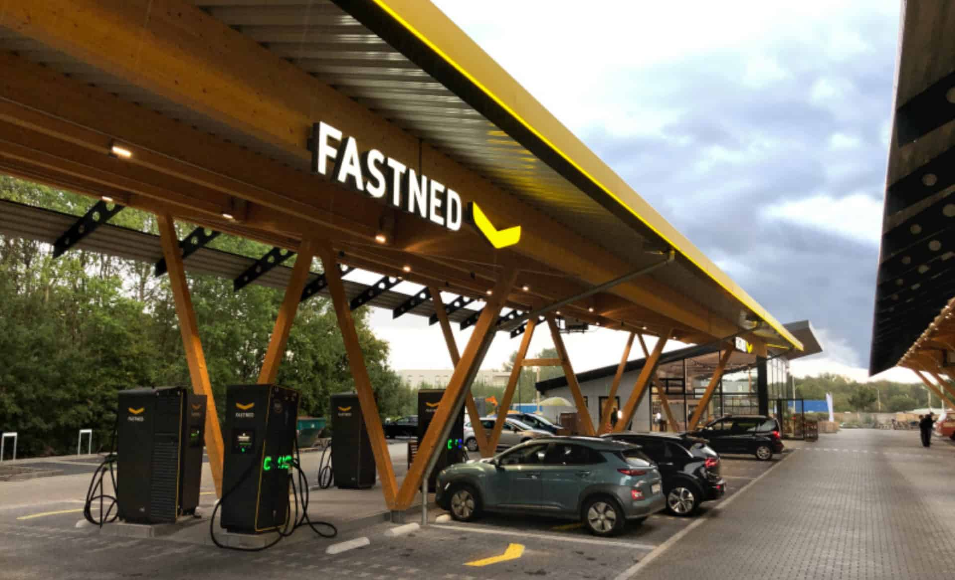 Tesla and Fastned Open Germany's Largest Solar and Wind-Powered Fast Charging Hub