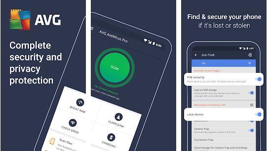 AVG AntiVirus - Android Antivirus Apps