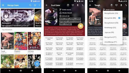 Manga Geek - Manga Apps for Android