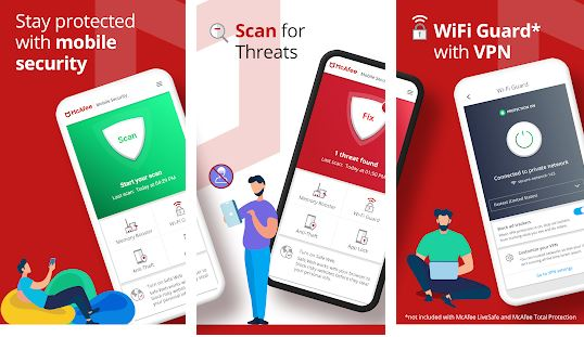 McAfee Mobile Security - Android Antivirus Apps