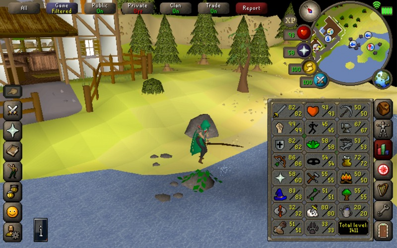 Old School RuneScape - Android MMORPG Game