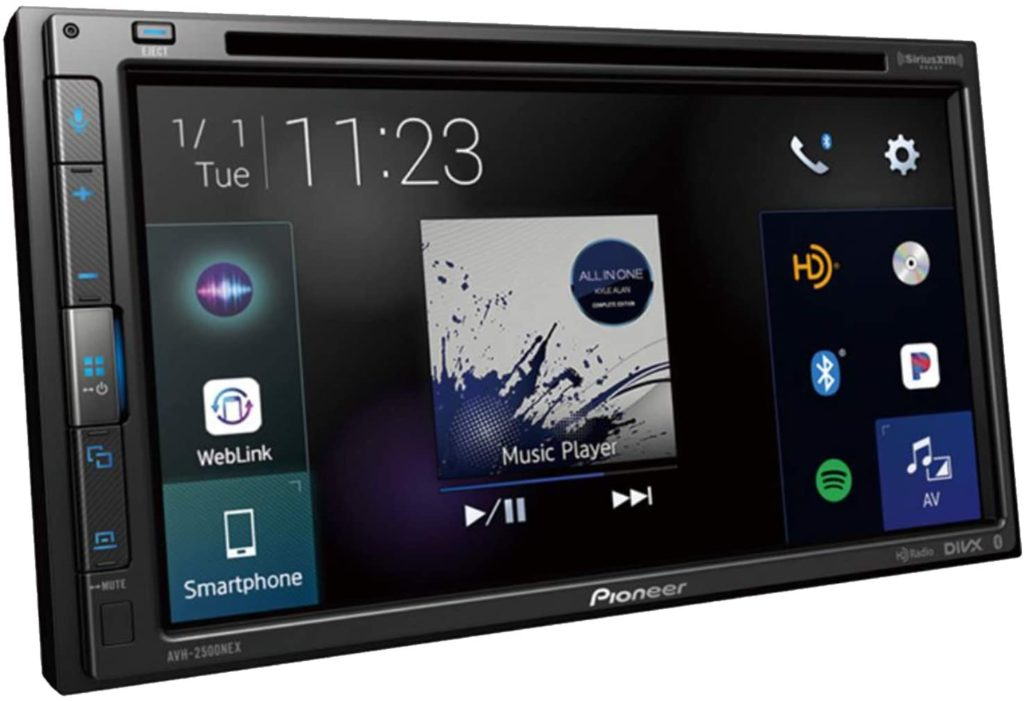Pioneer AVH-2500NEX Navigation receiver with car play/android auto