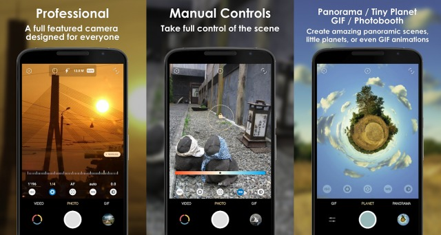 Pixtica - Android Camera App