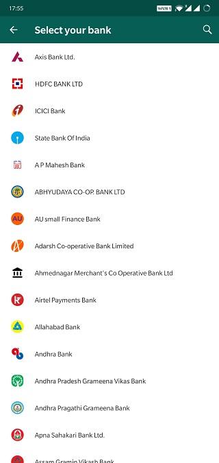 Register for UPI Payments 2