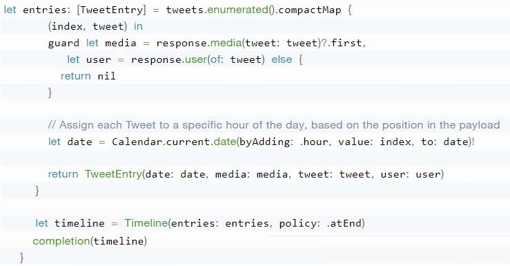 Twitter Widget Code 3