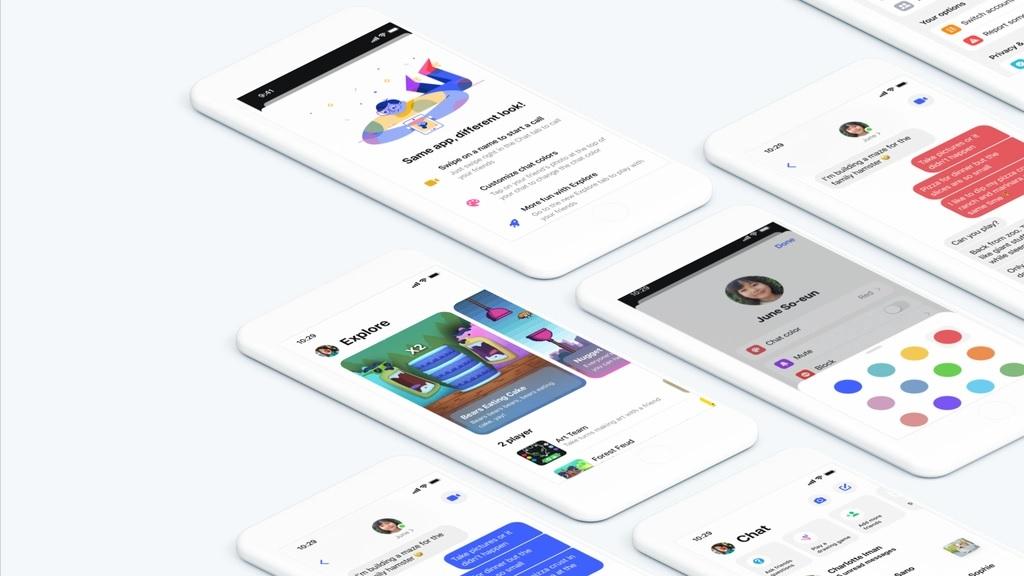 Updated Messenger Kids app