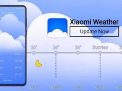 Xiaomi Weather App Receives a New Update With UI Changes and Bug Fixes