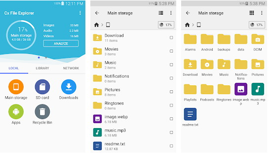 Cx File Explorer - Best Android File Manager Apps