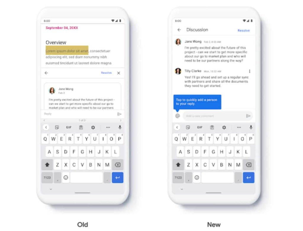 Google Rolls Out New Comment Interface for Google Docs, Sheets, and Slides iOS Apps