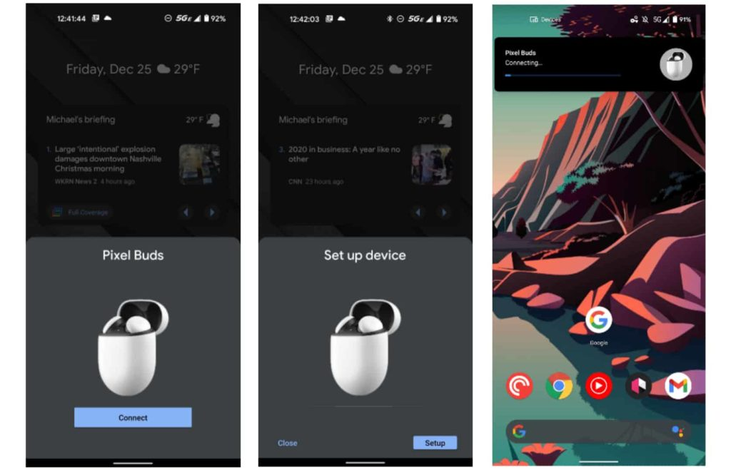 Android Updates Fast Pair UI for Bluetooth Devices, Update Looks Like iOS