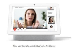 Google Nest Hub Max with improved Google Suite Experience