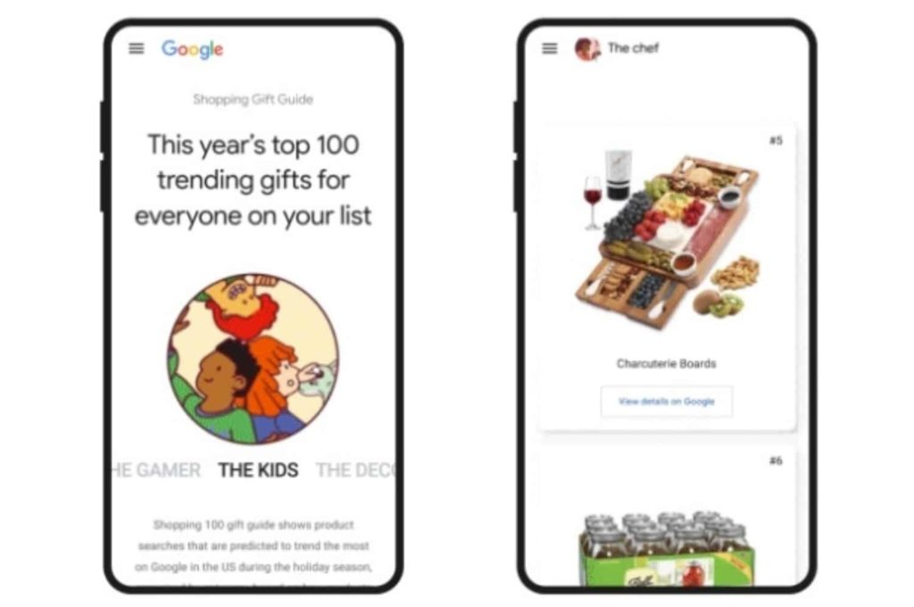 Google Introduces Shopping Gift Guide for Users to Find Trending Products