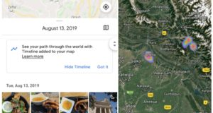 Google Photos Adds a Satellite Layer in Its Maps View, Integrates Your Travel Timeline