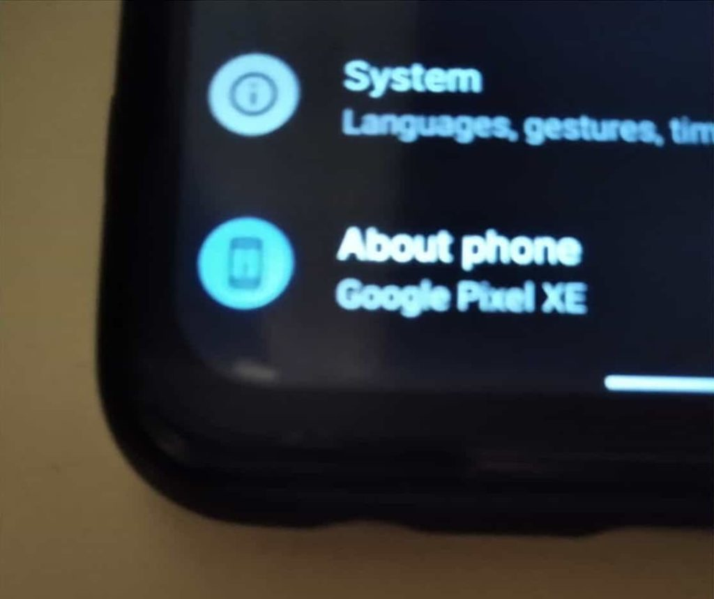 Real Images of Mysterious Google Pixel XE Leak With Punch Hole Display