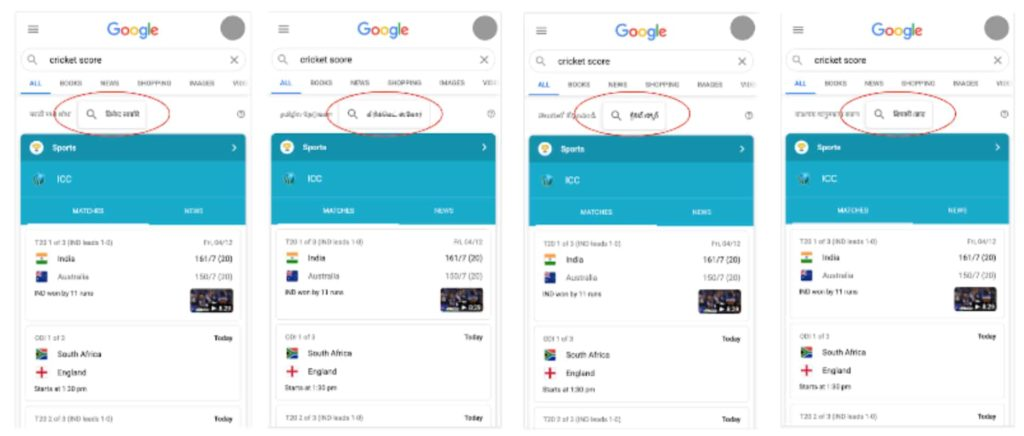 Google Announces New Local Language Features for India in Its L10n Event