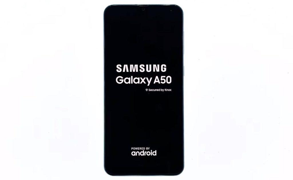 Splash Screen Samsung Galaxy A50