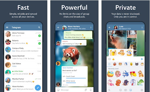 Telegram - Best Messaging Apps for Android