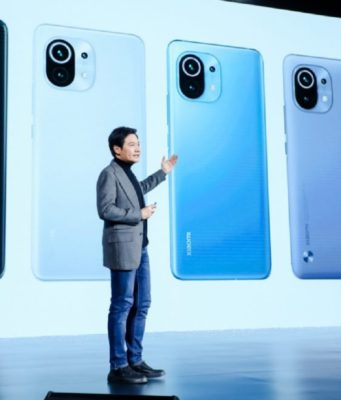 MI 11 launched in China