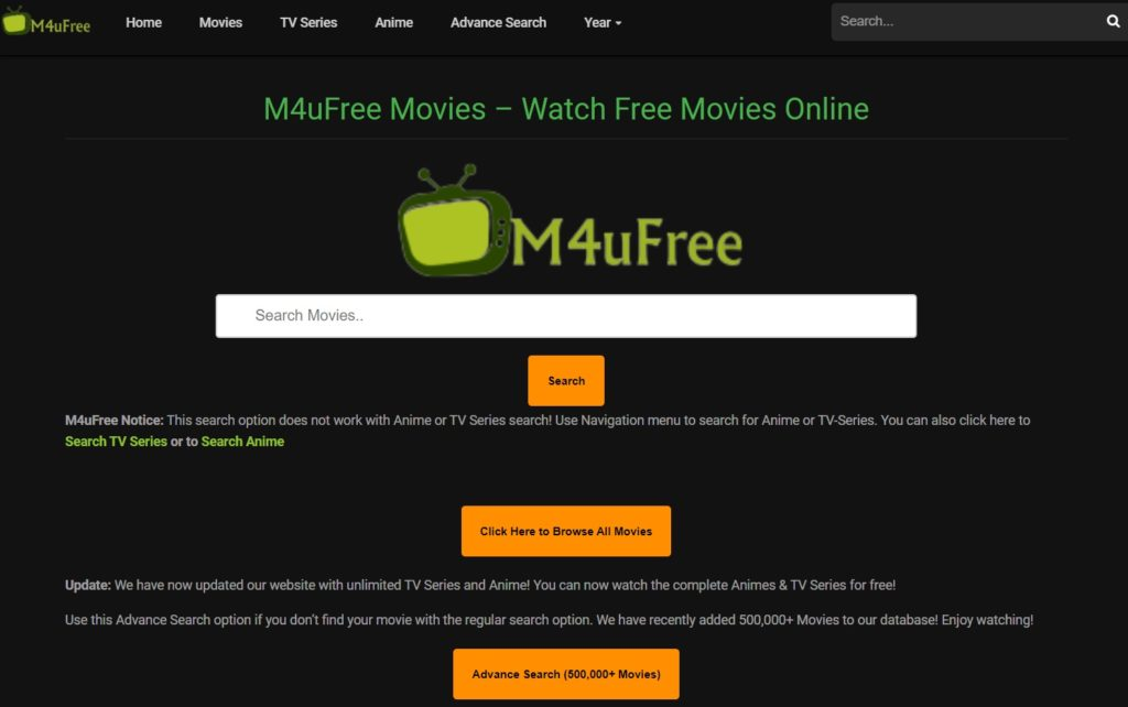 M4ufree - Free Movie Streaming Sites with No Sign-Up