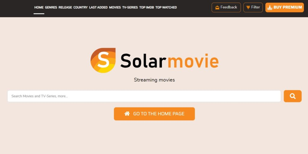 solar movies - Free Movie Streaming Sites with No Sign-Up