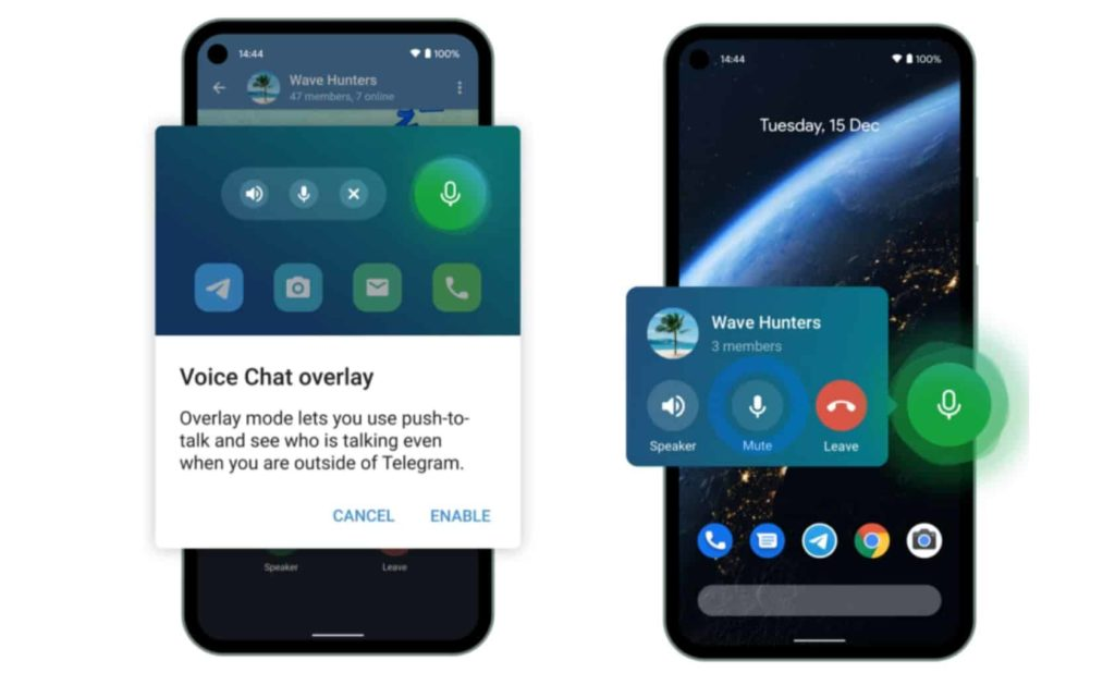 Telegram Launches Group Voice Chats, Brings New Animations for Android Users